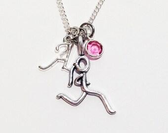 Running Jewelry, Running Gifts, Runner Girl, Runner Gift, Runner Jewelry, Runner Necklace, Marathon Gift, Marathon Jewelry, Personalized
