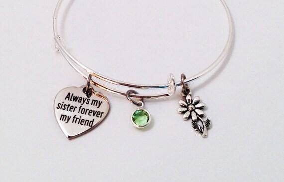 Wedding Gift For Big Sister : ... Gift, Big Sister, Sister Jewelry, Sister Birthday Gift, Wedding Gift