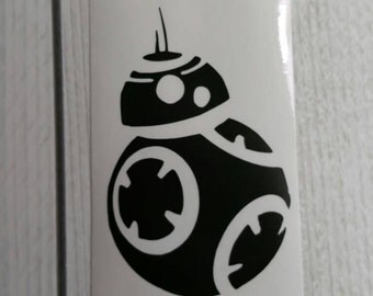 Star Wars inspired Bb-8  droid decal