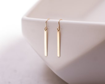 Dainty Gold Filled Earrings ENGLAND
