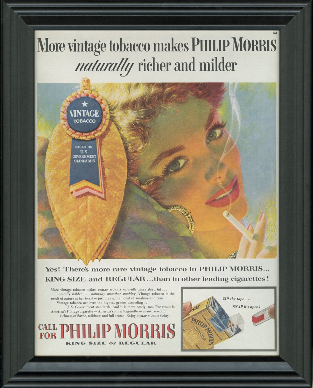 an analysis of the famous philip morris marlboro cigarette ad Public health experts say that tobacco advertising increases cigarette consumption and  with philip morris in  analysis of the.