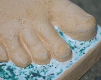 Decorative Ceramic Foot