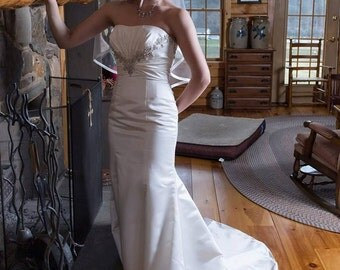 Mori Lee bridal gown, Bridal Gown, Wedding Gown, Vintage Bridal Gown, Mermaid Bridal Gown