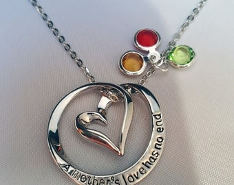A Mother's Love Has No End Necklace & Pendant