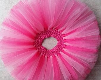 Hotpink tutu, Princess tutu, Vday tutu, Valentine's Day tutu, Valentines tutu, Pink tutu, cake smash, birthday tutu, photo prop
