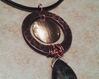 Ancient briolette pendant