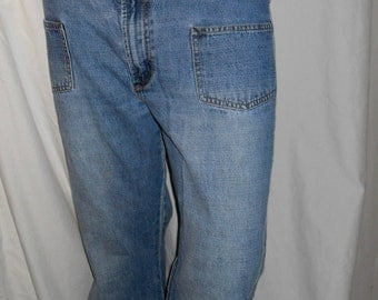 Zena Light Blue Wash Denim Flare/Bell Bottom Jean Pants 12
