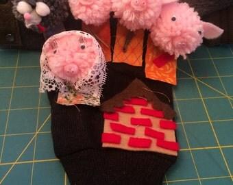 3 Little Pigs Glovepuppet