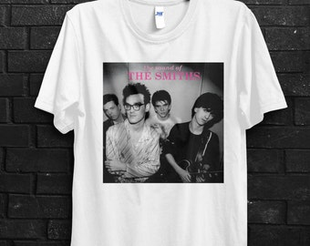 Sounds Of The Smiths Men T-Shirt, The Smiths, Morrisey, 80's Rock, Alternative Rock, New Gave, Bands Shirts