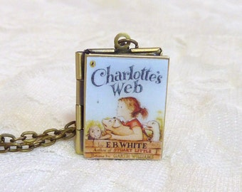 Charlotte's Web Story Locket