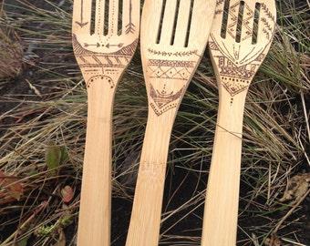 Handmade Wooden Spoons: Iceland