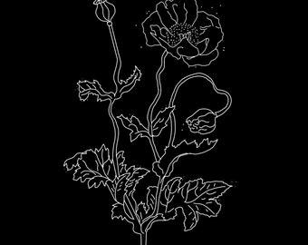 Art Print • Moon Flower  •