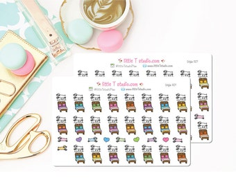 Printed Sticker Sheet - Nap Time! Sleep ... it's a Beautiful Thing! - Style 057