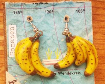 Banana Trio Earrings