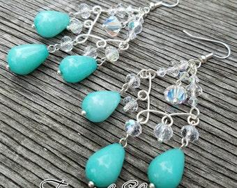Blue Bliss Earrings FREE SHIPPING WORLDWIDE