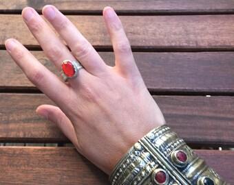 Vintage tribal Kuchi ring