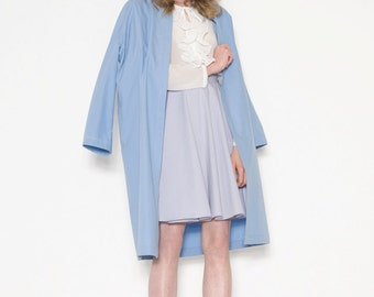 Blue summer coat