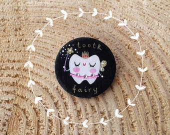 Tooth fairy brooch