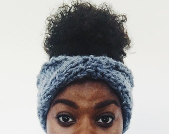 Junebug Headband, Knitted Headband, Knitted Earwarmer, Winter Accessories, Chunky Knit Headband, Gifts for Her