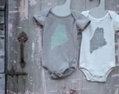 MAINE ONESIE - Infant Organic Cotton One-piece