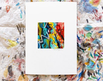 Mini abstract no. 3, 5 x 7 archival art print