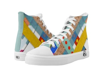 Sneakers - Abstract Geometric