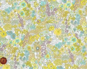 Liberty Tana Lawn Fabric, Liberty of London, Liberty Japan, Margaret Annie, Cotton Print Scrap,  Floral Design, Quilt, Patchwork, kt1165x