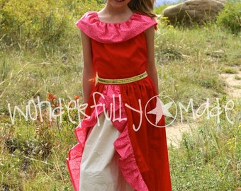 Latina Princess Dress/Costume