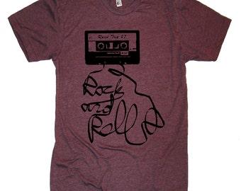 Music Cassette Tape T Shirt Vintage T Shirt Old Music Retro Tshirt Mens Womens Tshirts 80s T Shirt Band T Shirt Gifts For Him Boyfriends Tee