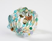 Colors of the Wind Layered Wire Wrap Bracelet.