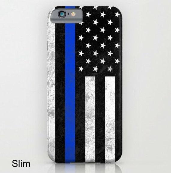 Thin Blue Line Phone Case Iphone  Plus