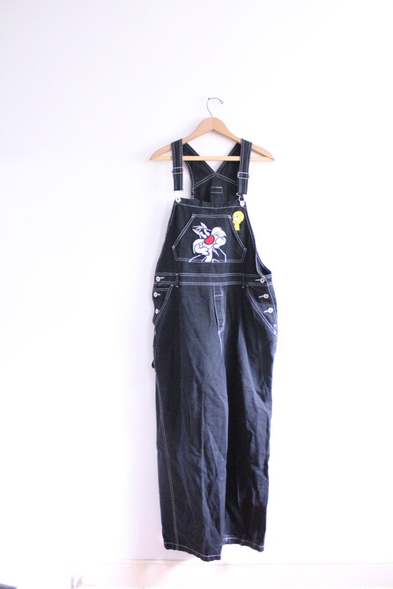 Looney tunes urban 90s overalls for Classic house tunes 90s