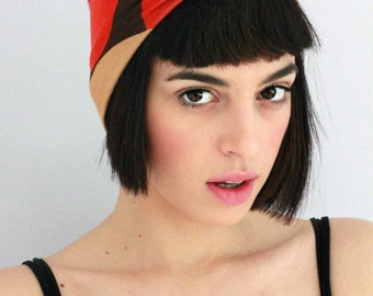 2 in 1 Turban Twist, Turban Headband, Boho Headband, Hippie Headband, Workout headband, Sweatband, Twisted Headband, Headwrap, Mix Print