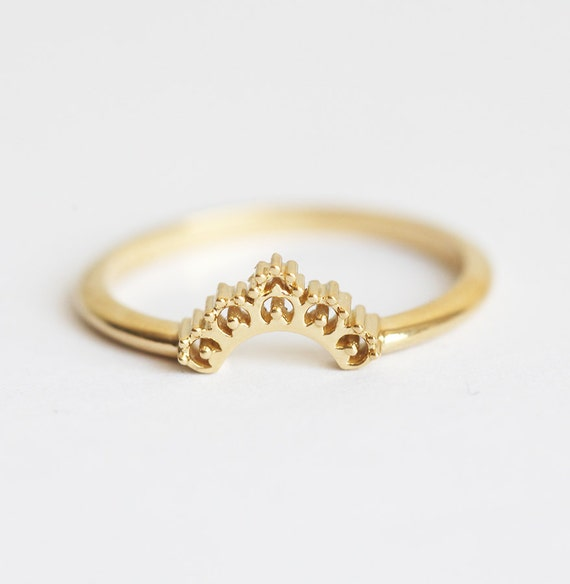 lace wedding ring gold lace band gold wedding ring by