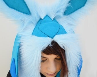 Eeveelution Glaceon Pokemon Rave Hat