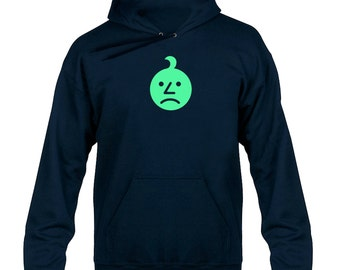 Sad Onion Glow  Hoody  Hoodie Hooded Sweater