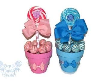 Baby Shower Lollipop Centerpiece, Its a Boy, Its a Girl, Baby Girl Baby Shower Centerpiece, Baby Girl Candy Centerpiece, Baby Shower Ideas