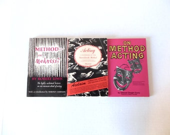 Method Acting Books 1950s Strasberg Stanislavski