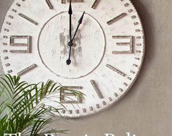 Farmhouse clock Etsy