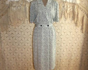 Womens Plus Size Dresses XL Petite Dress Size 16 Dress Day Dress Short Sleeve Dress Silky Shirtwaist Dress Liz Claiborne Womens Clothing