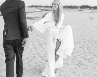 Fortuna Chantilly Wedding Gown