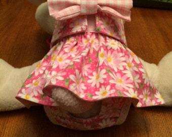 Pretty Dog Diaper Cover, Female Dog Panties, Washable Dog Diaper