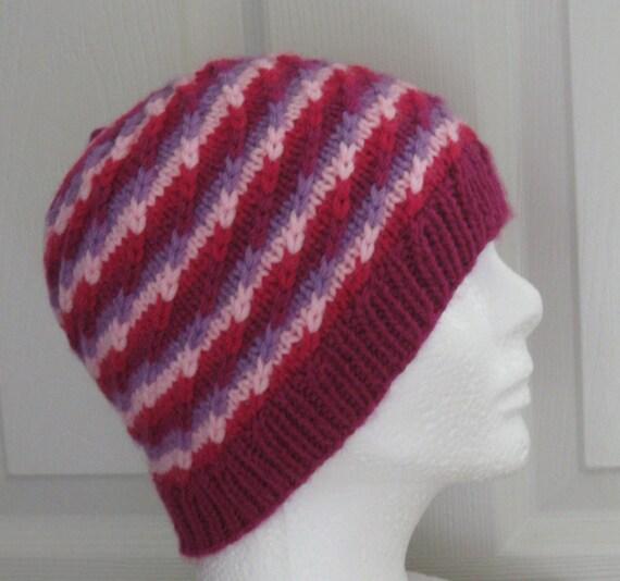 Strawberry Shortcake Knit Hat