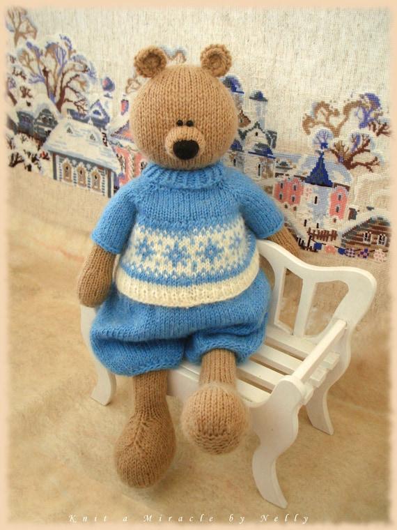 Knitting Patterns For Toys Bears