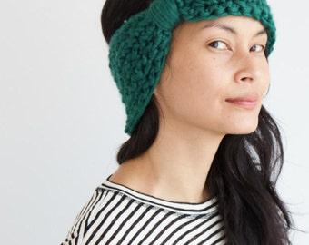 Green Turban Headband