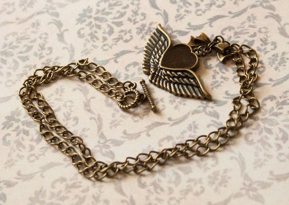 rockabilly necklace handmade