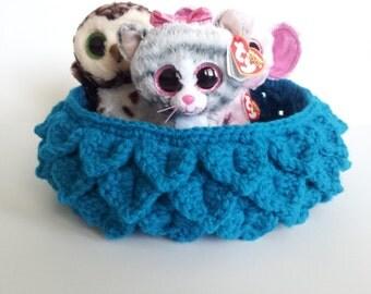 Crocodile Stitch Basket