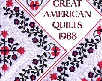 Great American Quilts, 1988 from Oxmoor House | Craft Book