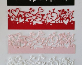 8 Cherish Border Die Cuts
