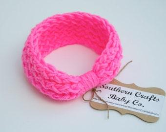 Crochet Headband Ear Warmers Crochet Earwarmers Baby Ear Warmer Knot Headband